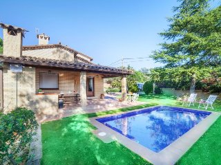 4 bedroom Villa in Caldes de Malavella, Catalonia, Spain : ref 5486624