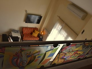 apartment with loft suitable for family and
