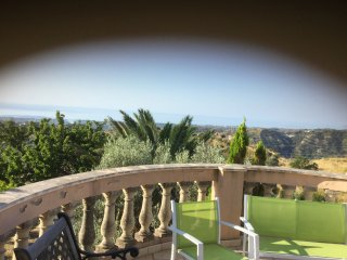Mediterranean villa ,with splendid views of majestic mountains ,valleys and the