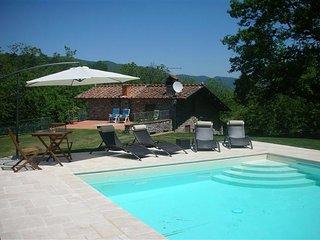 3 bedroom Villa in Loppeglia-Fiano, Tuscany, Italy : ref 5484376