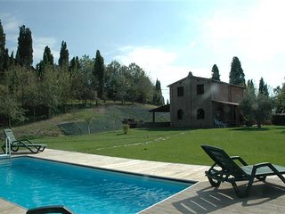 2 bedroom Villa in Asciano, Tuscany, Italy : ref 5484332