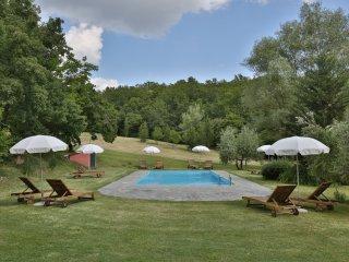 5 bedroom Villa in Cicogna, Tuscany, Italy : ref 5478968