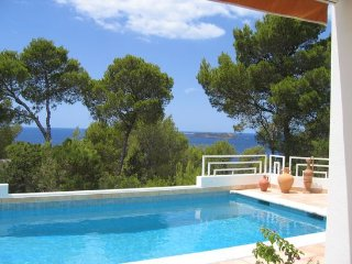4 bedroom Villa in Cala Tarida, Balearic Islands, Spain : ref 5476601