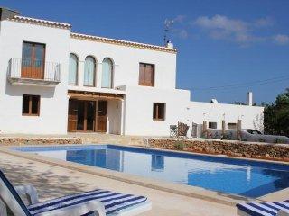 4 bedroom Villa in Sant Carles de la Rapita, Balearic Islands, Spain : ref 54760