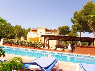 4 bedroom Villa in Santa Eularia des Riu, Balearic Islands, Spain : ref 5476090