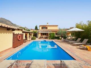4 bedroom Villa in Port de Pollença, Balearic Islands, Spain : ref 5475997