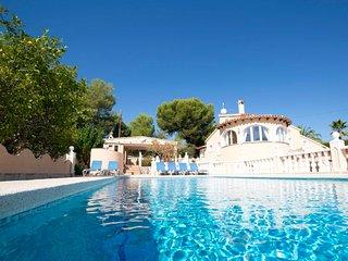 6 bedroom Villa in Calpe, Valencia, Spain : ref 5473645