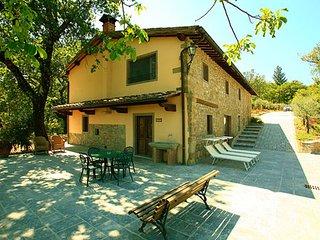 7 bedroom Apartment in Poppi, Tuscany, Italy : ref 5473477