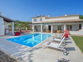 4 bedroom Villa in Pollença, Balearic Islands, Spain : ref 5456616