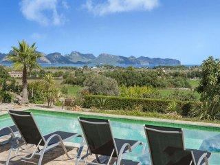 4 bedroom Villa in Alcudia, Balearic Islands, Spain : ref 5456588
