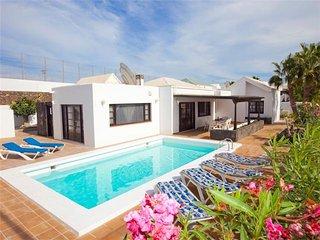 3 bedroom Villa in Puerto del Carmen, Canary Islands, Spain : ref 5455646