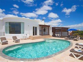 5 bedroom Villa in Puerto Calero, Canary Islands, Spain : ref 5455597