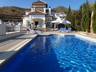 4 bedroom Villa in Nerja, Andalusia, Spain : ref 5455191