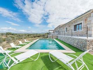 4 bedroom Villa in Sineu, Balearic Islands, Spain : ref 5452193