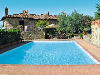 6 bedroom Villa in Gaiole in Chianti, Tuscany, Italy : ref 5447448