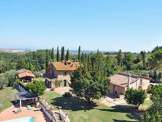 6 bedroom Villa in Gambassi Terme, Tuscany, Italy : ref 5446731
