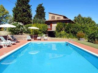 6 bedroom Villa in Gambassi Terme, Tuscany, Italy : ref 5446716