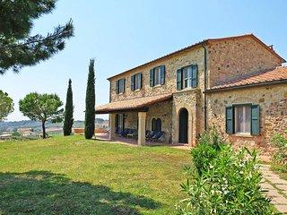 5 bedroom Villa in Bibbona, Tuscany, Italy : ref 5446335