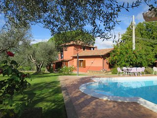 4 bedroom Villa in Pian di San Martino, Latium, Italy : ref 5440508