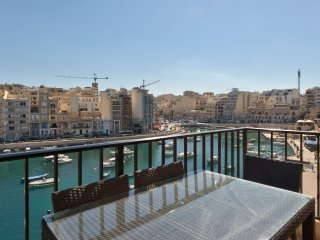 St Julian Seafront Duplex 4-bedroom Apartment