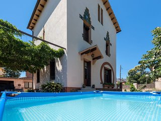 4 bedroom Villa in Santa Maria de Palautordera, Catalonia, Spain : ref 5698927