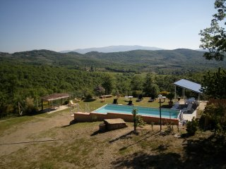 4 bedroom Villa in Pieve San Giovanni, Tuscany, Italy : ref 5416012