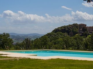 Buonconvento Villa Sleeps 18 with Pool Air Con and WiFi - 5218479