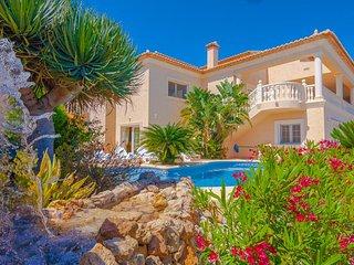 5 bedroom Villa in Calpe, Valencia, Spain : ref 5398572