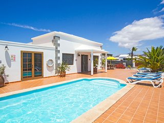 4 bedroom Villa in Playa Blanca, Canary Islands, Spain : ref 5392391