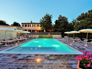 10 bedroom Villa in San Liberio, The Marches, Italy : ref 5390878