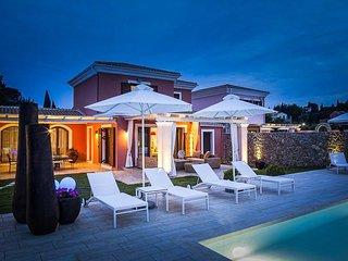 4 bedroom Villa in Dassia, Ionian Islands, Greece : ref 5334460