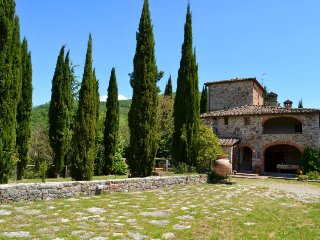 4 bedroom Villa in Monteluco, Tuscany, Italy : ref 5697109