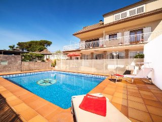 4 bedroom Villa in Vidreres, Catalonia, Spain : ref 5296375