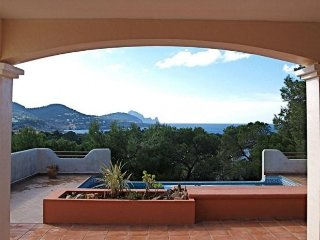 4 bedroom Villa in Cala Tarida, Balearic Islands, Spain : ref 5269773