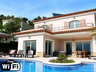 4 bedroom Villa in Santa Cristina de Aro, Catalonia, Spain : ref 5250753