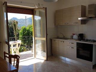 3 appartements à louer dans une villa, avec vue sur le Monte Cassino
