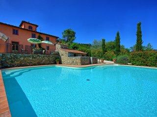 4 bedroom Villa in Fattoria del Castagno, Tuscany, Italy : ref 5241336