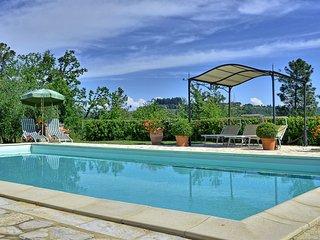 4 bedroom Villa in Corazzano, Tuscany, Italy : ref 5240175