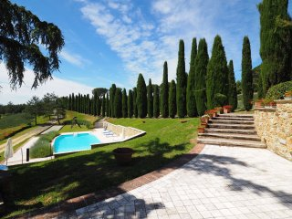 3 bedroom Apartment in Sensano, Tuscany, Italy : ref 5239337
