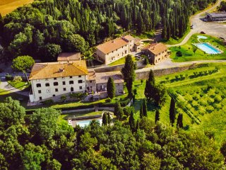 4 bedroom Apartment in Il Castagno d'Andrea, Tuscany, Italy : ref 5227170