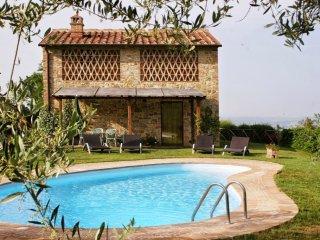 3 bedroom Villa in Gambassi Terme, Tuscany, Italy : ref 5227019