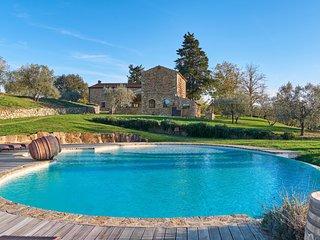 6 bedroom Villa in San Giorgio a Colonica, Tuscany, Italy : ref 5226993