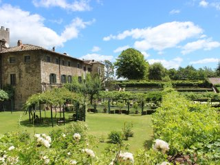 4 bedroom Apartment in Badia Coltibuono, Tuscany, Italy : ref 5226679