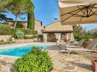 4 bedroom Villa in Poggibonsi, Tuscany, Italy : ref 5226912