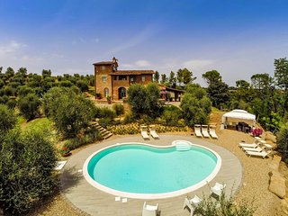 4 bedroom Villa in Alica, Tuscany, Italy : ref 5226816