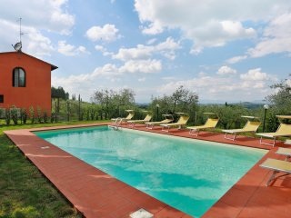 4 bedroom Villa in Montespertoli, Tuscany, Italy : ref 5226709