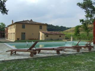 4 bedroom Villa in Peccioli, Tuscany, Italy : ref 5226626