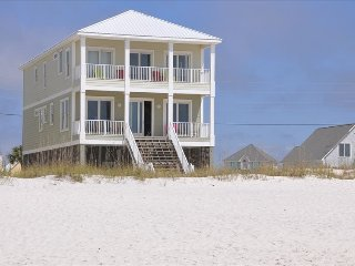 Beautiful 6 bedroom home directly on the beach.  Private with fantastic views.
