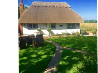 Enchanting Thatched Cottage sleeps 4-8 in a True Idyllic setting with Hot Tub