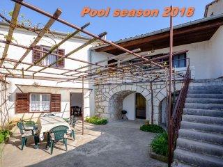 2 bedroom Villa in Grižane, , Croatia : ref 5220801